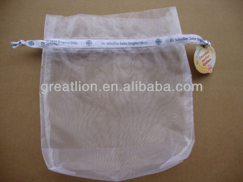 round organza bags