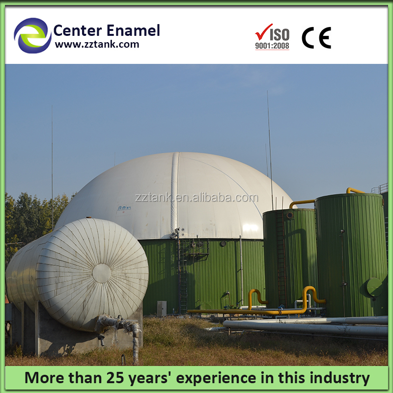 High corrosion resistance portable anaerobic digester with air tightness