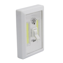Super Bright COB Night Lamp LED Switch Light AAA Battery Operated Magnet Emergency Light
