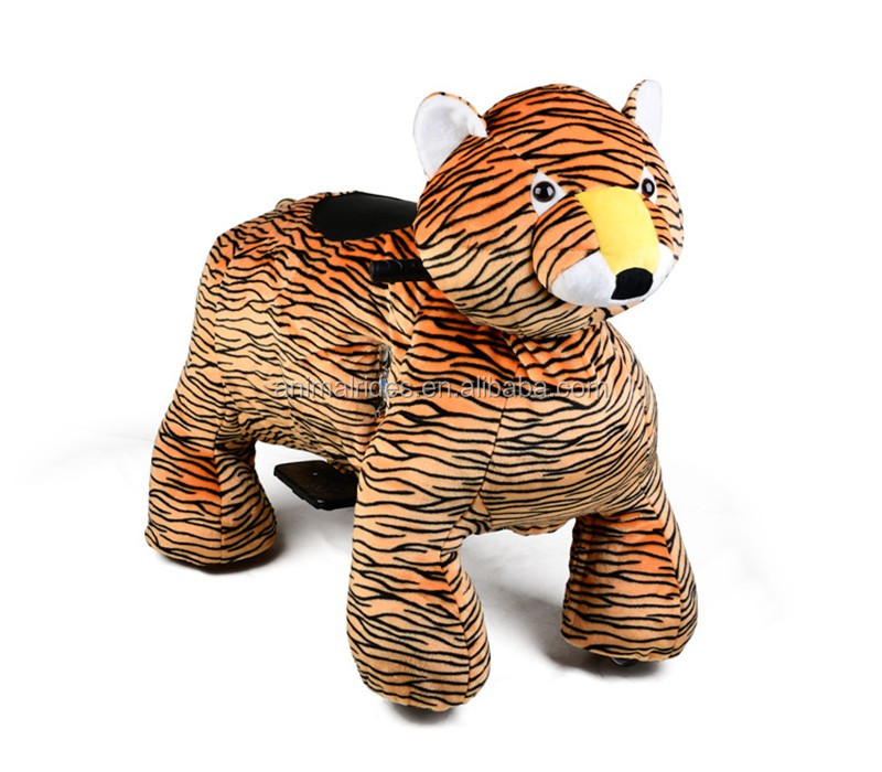 MZ59 mall CE walking battery powered animal ride stuffed kid toy animal riding