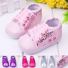 C81608A Beaded sequined cloth baby shoes toddler shoes baby shoes