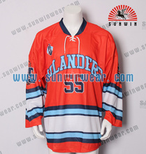 Custom made tim set ice hockey jerseys