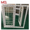 cheap house windows for sale pvc windows in Guangzhou 2018