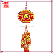 Cheap home and office decoration for new year decorative hanging firecrackers WL8046-3