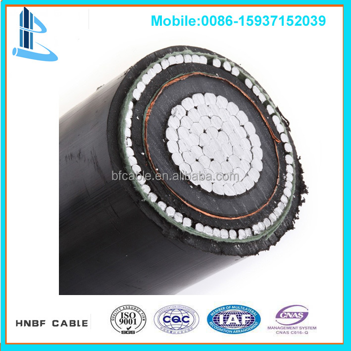 500mm 20kv electrical wire xlpe pvc sheathed medium voltage power cable