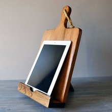 Hight Quality Hanging Cutting Board style Wooden Cook Book Stand