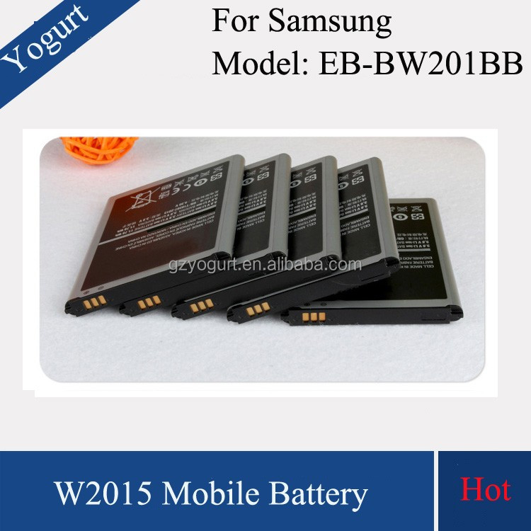 gb/t18287-2000 cell phone battery for samsung w2015 battery