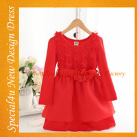 Wholesale 100% cotton infant girl dresses fashionable soft fabric baby clothing design baby dress SHLY-645