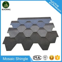 Mosaic shingle roof,fiberglass roof tile with high quality