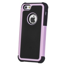 Net Dot Cell Phone Case For iPhone 5 5G Plastic Mesh Hard Case