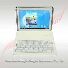 Bluetooth keyboard with keyboard case for samsung galaxy note