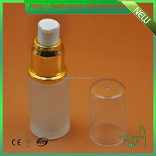 Sell Glass luxury cosmetic packaging bottles and jars containers for perfume, lotion, cosmetic serum, body cream, etc