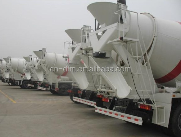 HOT MODEL Dongfeng 8X4 Concrete Mixer Truck / Cement Mixer Truck 375HP with Cummins Engine