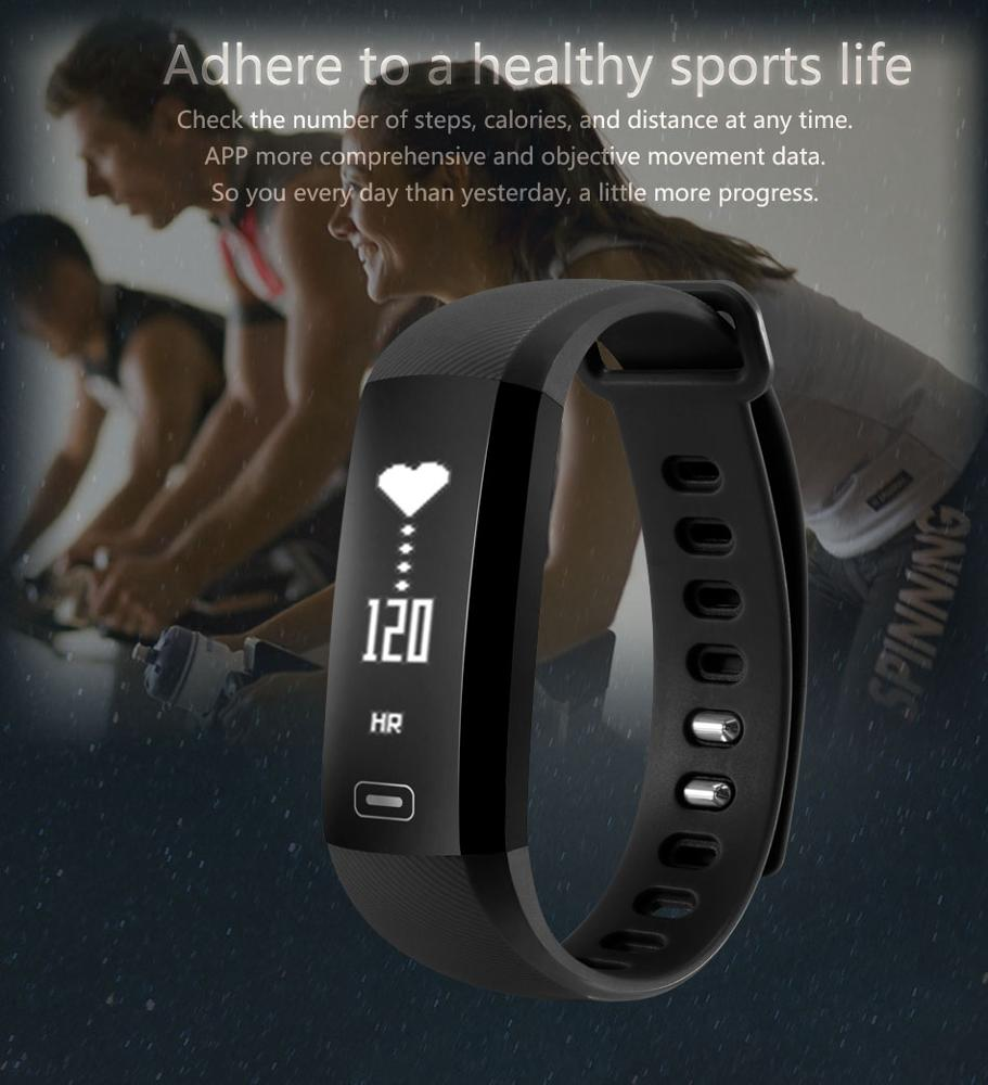 M2S Smart Band Heart Rate Blood Pressure Pulse Meter Bracelet Fitness Watch Smartband for iOS Android PK Fitbits ID107