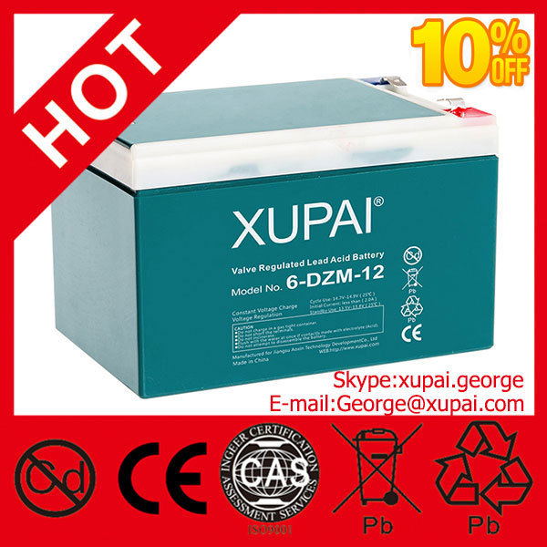 Valve Regulated Lead Acid Battery 12v for Canada Made in China