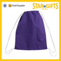 2015 Best selling good quality custom purple gift promotion bags