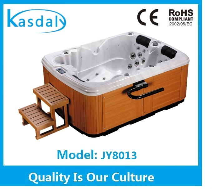 2014 European Style big Jets hot tub shell sale with best service (JY8013)