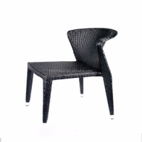 Hot sale new- design rattan outdoor pro plastic garden chair