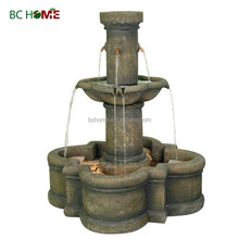 2015 new high quality resin water fountains European style