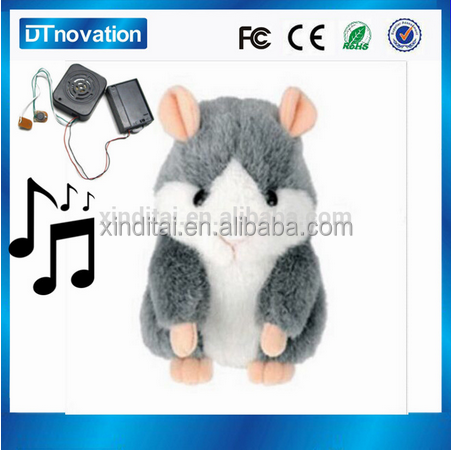 OEM customize singing record your own voice plush toys