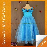Hot sale cinderella flower girl dresses cinderella dress costumes for flower girl tutu dresses Lyd-487