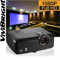 vivibright manufacturer full hd 1920*1080p DLP 3D 4k projector best for large venue ,large conference room