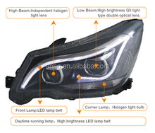 High quality and good performance LED car HID auto head lamp used for Forester 2013-2015