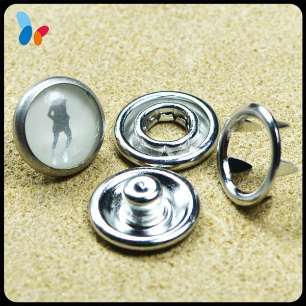 bulk decorative pearl snap fasteners for jacket