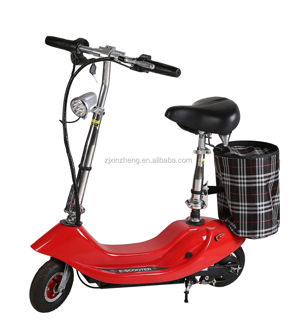 Cheap folding dubai electric scooter with seat on sale for for Folding motorized scooter for adults