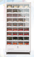 Automatic retail food vending machine in wholesale price for sale