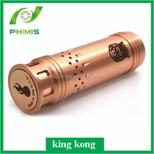 Wholesales vapor mech king kong high quality 26650 king kong mod in stock