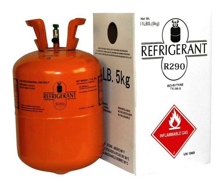 refrigerant gas r290 price for air conditioner New environmental gas