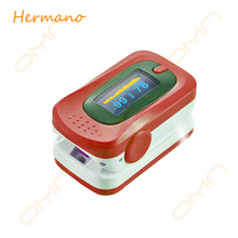 Portable Fingertip Pulse Oximeter CE Approved with Batteries and Lanyard, Ideal for Doctors, Home Health Care, Clinics