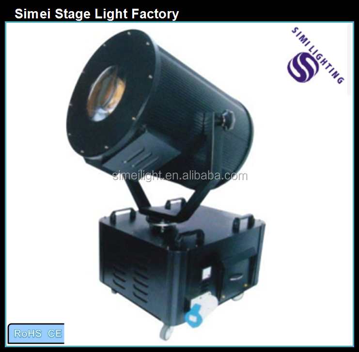 Factory Wholesale Outdoor Sky Rose Search Light 2KW / 3KW / 4KW / 5KW