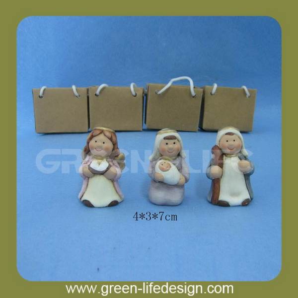 The virgin mary decoration for gift
