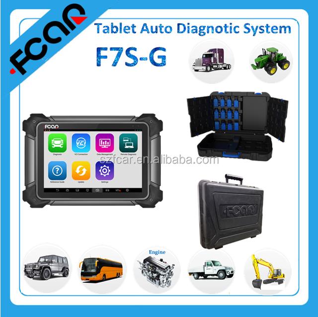 OBD 2 Car Scanner, FCAR F7S G SCAN TOOL Automobile Diagnostic Tools