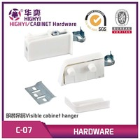 C-07 Plastic and iron furniture accessories file kitchen cabinet hanger