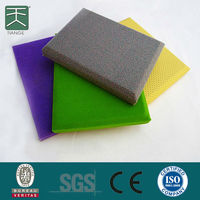 Sound Absorption Material / Acoustic Board For Wall And Ceiling / Building Material For House