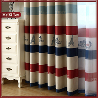 french window design acoustic curtain rideau frilled curtains,fire proof hotel lobby curtain roman shade horizontal stripes