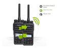 Scramble HYT PD56X DMR digital walkie talkie VHF:136-174MHz/UHF:400-470MHz for hot selling