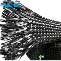 Carbon Fiber Braided Sleeve Cable Sleeve