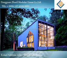 Modular prefab home kit price,low cost luxury container villa