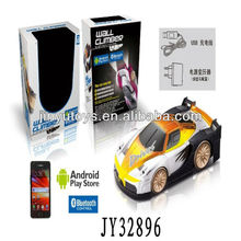 (NEW TOY) Bluetooth control RC wall climbing car