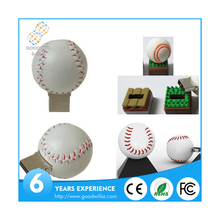 New fashion custom capacity baseball wholesale usb memory stick china