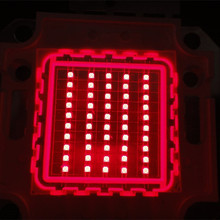 Hot sale 1W 10W 20W 50W 70W 100W red 620nm 630nm 650nm 660nm 680 high power led chip led emitting diode for growth plant light