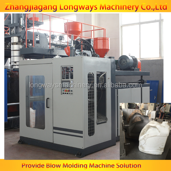 Full automatic blow moulding machine can produce lubricant oil container