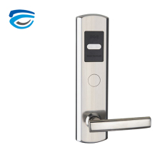 Modern design with card and key unlock function door lock hotel lock