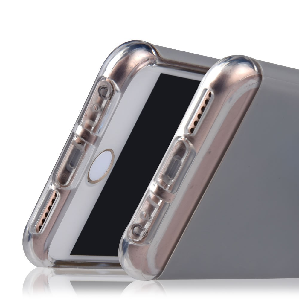 C&T Dual Layer Soft Flexible Interior TPU and Solid PC Back Protective Case Cover for iPhone 6s