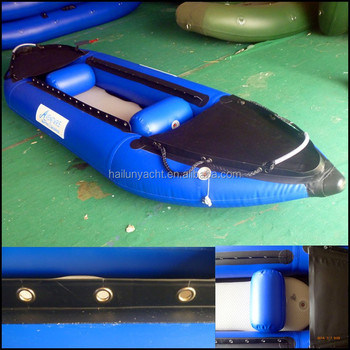 2015 Hypalon Inflatable kayak with oars