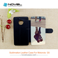 online buy Wholesale subliamtion leather phone case for Motorola G5
